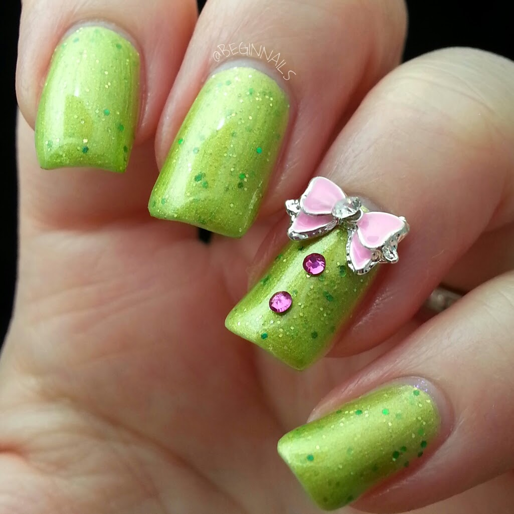 Simple Nail Art Cost: Let's Begin Nails: Charmingly Simple Nail Charm Review
