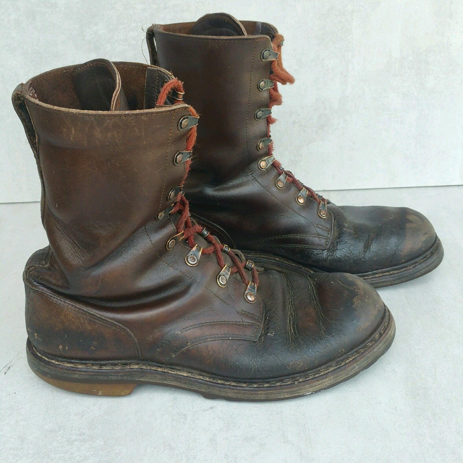 1d2939722ec65 Pielęgnacja /pastowanie/ tych butów wojskowych, dozwolone było tylko  brązową pastą dostarczaną przez Bundeswehr, jednak później zaczęto pastować  je czarną ...