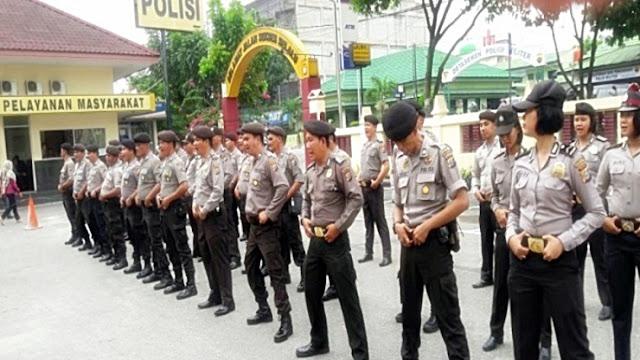 Pendistribusian Logistik Pilwako Pekanbaru, Polresta Kerahkan Ratusan Personel