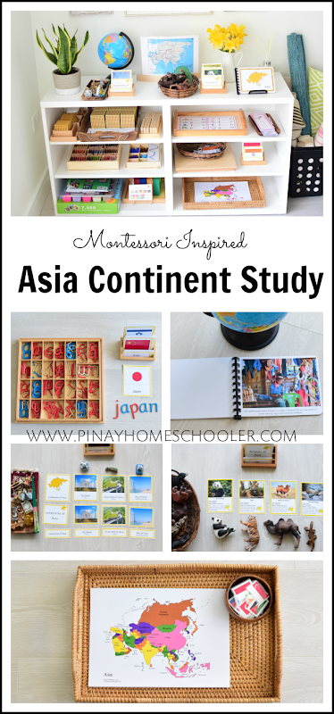Asia Continent Study for Kids