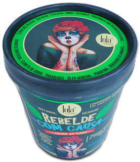 Máscara Purificante Lola Rebelde com causa para cabelos mistos e oleosos (Liberada para No Poo, Low Poo e Cowash)