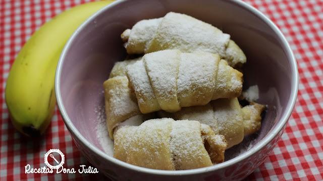 """Croissant de Banana"""