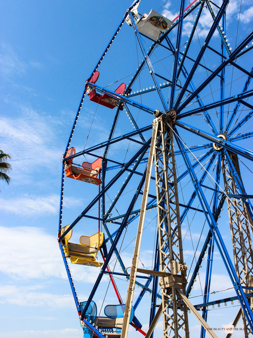 Newport Beach Ferris Wheel Roadtrip Westcoast USA