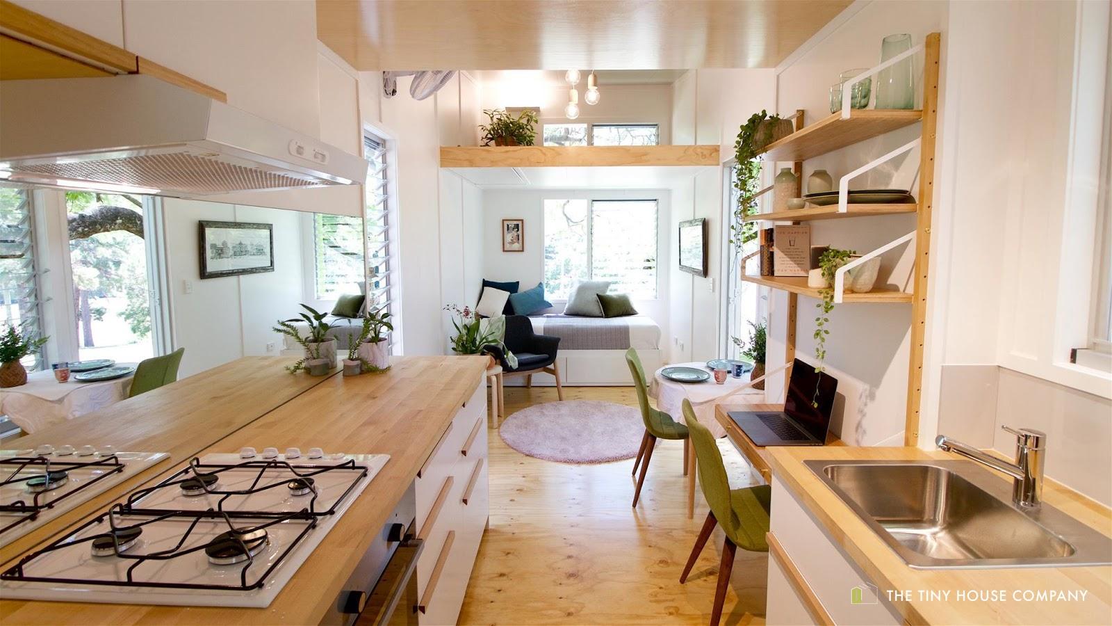 TINY HOUSE TOWN: The Pod C From The Tiny House Company