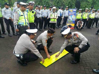 IML dan Polres Metro Jakarta Barat Sosialisasi Safety Riding