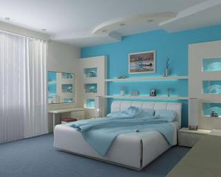 ห้องนอนสไตล์โมเดิร์น คลาสิค