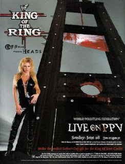 WWE / WWF King of the Ring 1998 Review: Event Poster