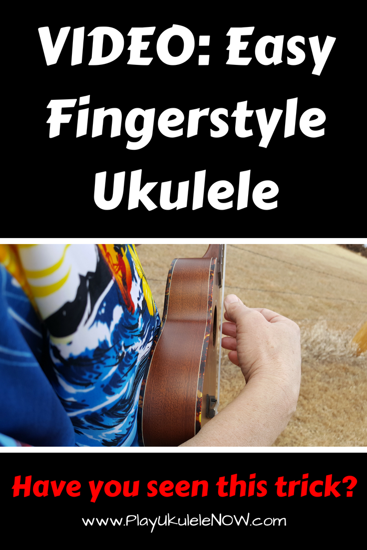 VIDEO: Easy fingerstyle ukulele for beginners - Play two songs!