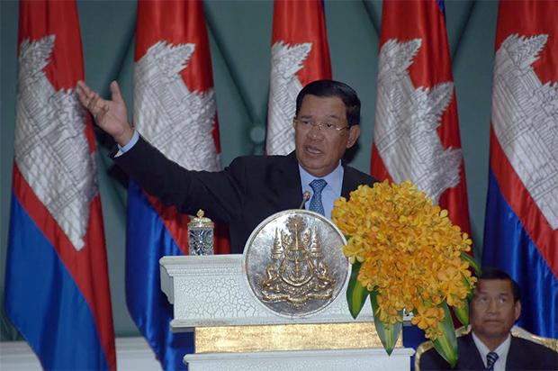Le Premier ministre Hun Sen. Photographie AKP