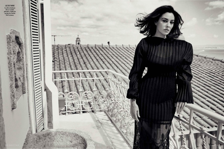 Monica Bellucci on Vanity Fair Spain: Monica Bellucci of the Spanish version Vanity Fair