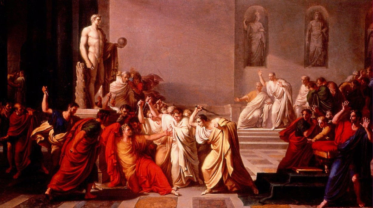 Real story of Caesar's death a lesson for our time