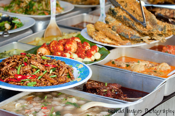 malaysia food on the streets