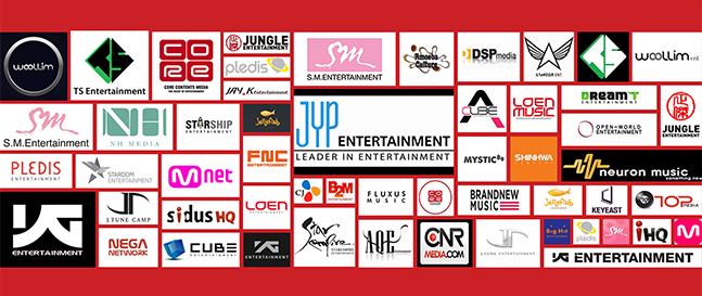 Big Three Korean Entertainment Companies