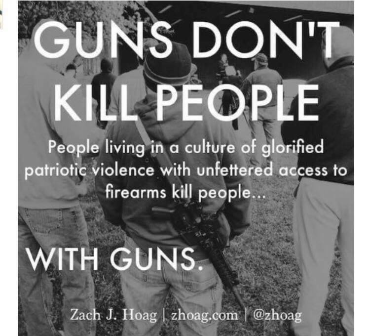 guns dont kill people, people do! essay Guns don't kill people, people kill people: and other myths about guns and gun control [dennis a henigan] on amazoncom free shipping on qualifying offers debunking the lethal logic behind the pervasive myths that have framed the gun control debate the gun lobby's remarkable success in using engaging slogans to frame the gun control.