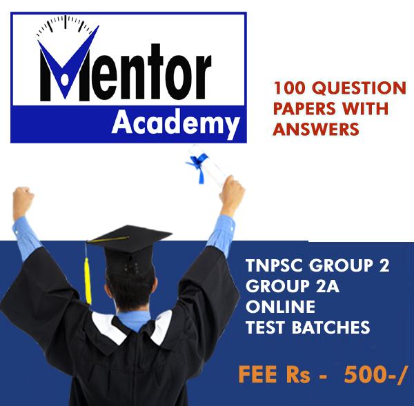 MENTOR ACADEMY - 7339329229, 7845062667 BEST TNPSC, SSC
