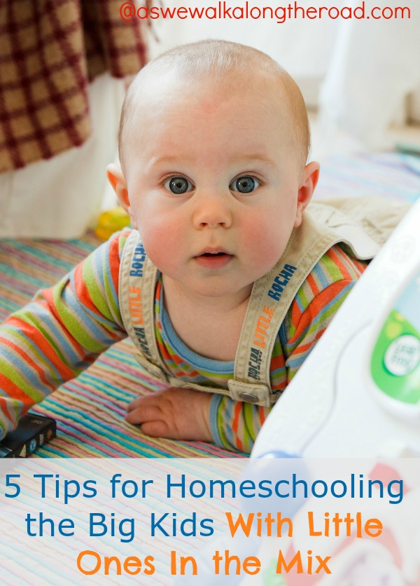 Homeschool with babies and toddlers