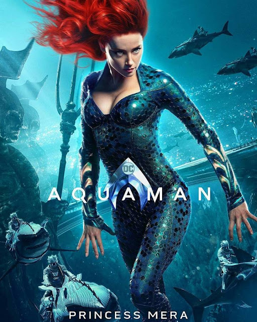mera aquaman movie poster official