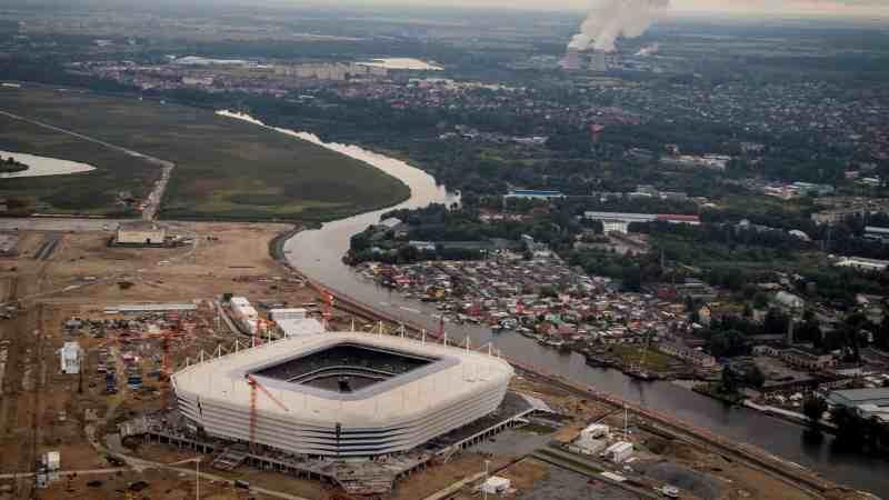 Stadion Kaliningrad, Rusia | Piala Dunia FIFA 2018