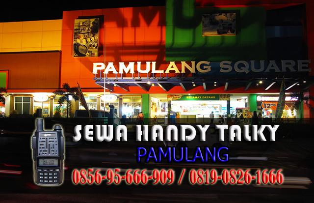 Pusat Sewa HT Pamulang  Pusat Rental Handy Talky Area Pamulang