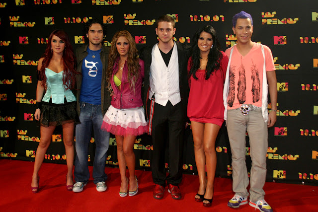 RBD Premios MTV 2007