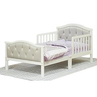 Orbelle Trading Padded Toddler Bed