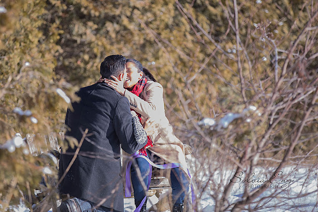 Proposal - with hidden photographer