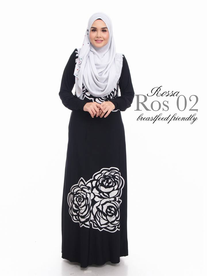 Norzi Beautilicious House: JUBAH ROSSA LIMITED EDITION