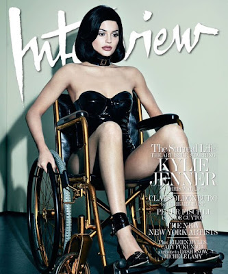 kylie jenner interview december 2015 wheelchair allen jones latex doll