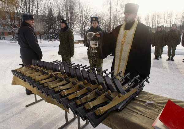 http://www.orthocuban.com/2014/02/blessing-of-weapons-and-the-orthodox/