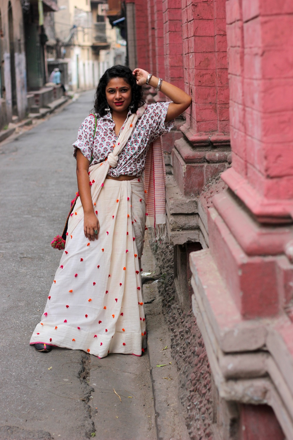 Modern Ways to Style a Saree This Nobo Borsho - Bengali New Year - Live Laugh Dressup