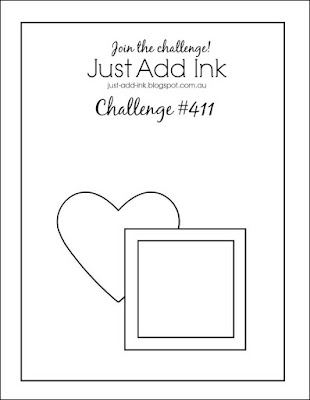Jo's Stamping Spot - Just Add Ink Challenge #411