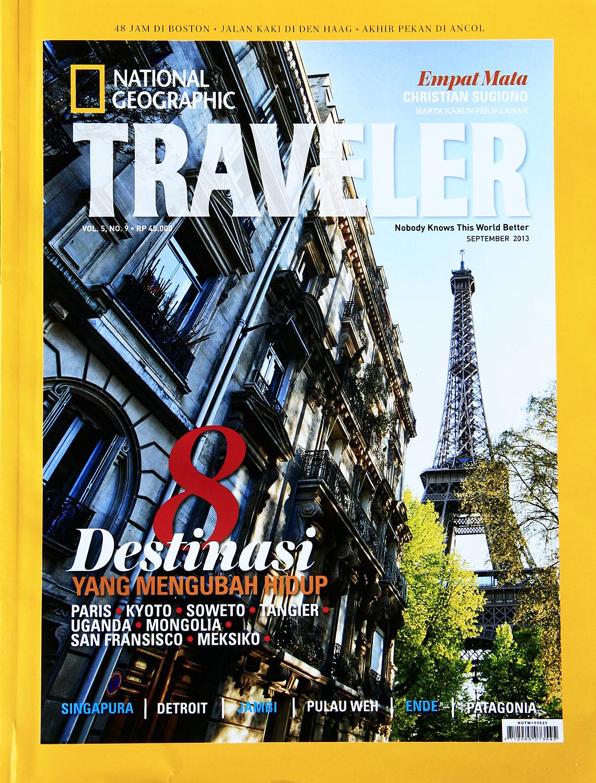National Geographic Traveler Indonesia Buku Ngi September 2017