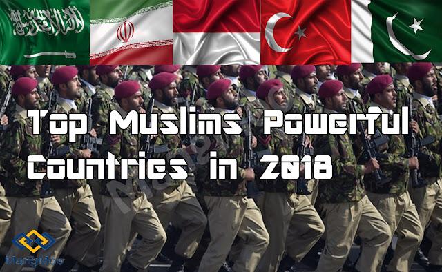 Top muslim powerful countries in 2018