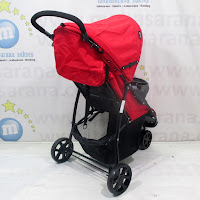Kereta Bayi Hugo RC2030 Starlight 3-Wheeler red
