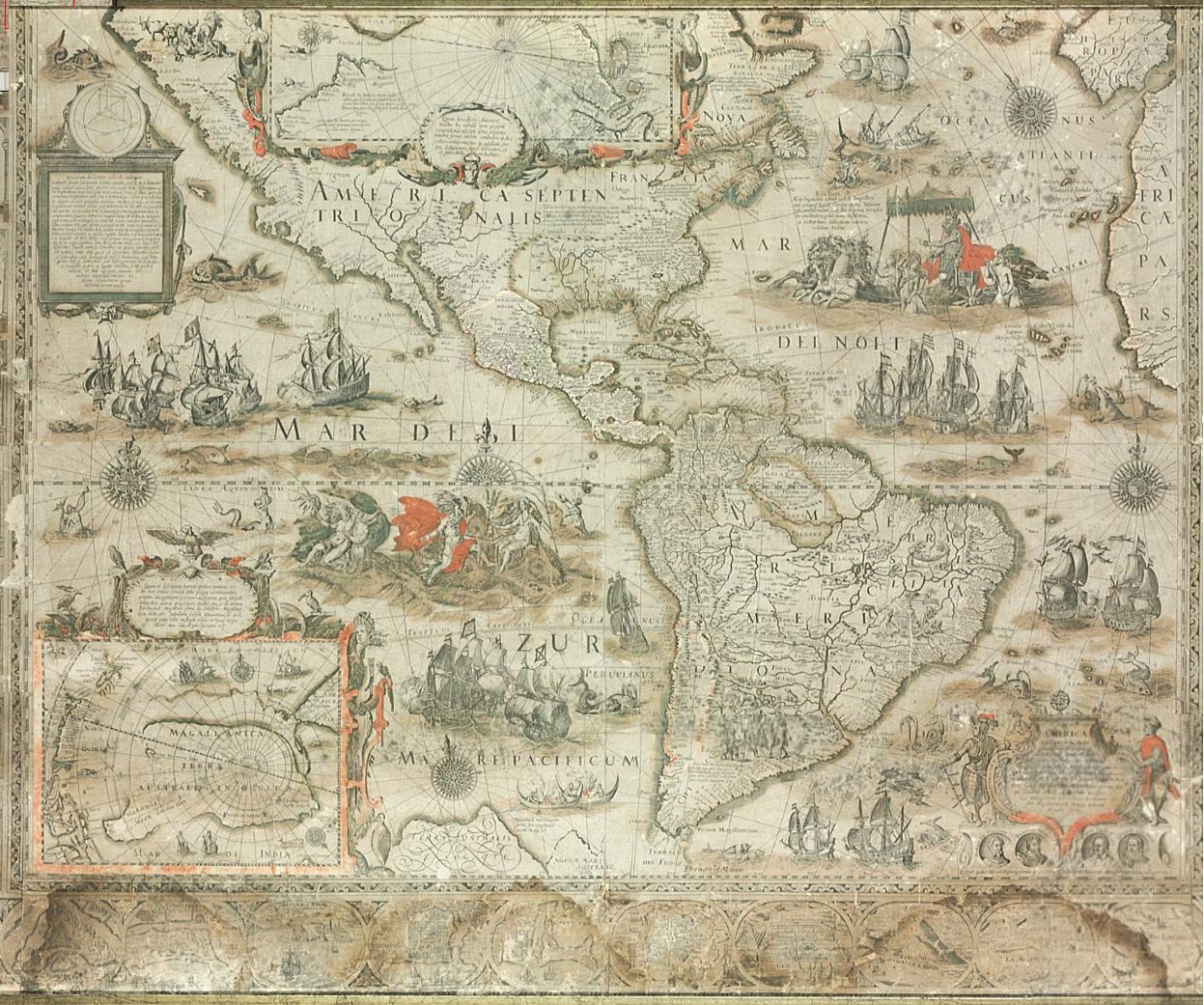 Amerigo Vespucci Map Of America.Amerigo Vespucci
