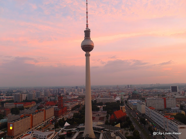 Berlin - the view from Park Inn