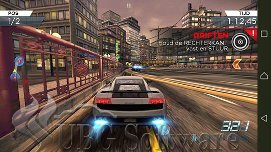 Need For Speed Most Wanted Mod APK - UBG Software