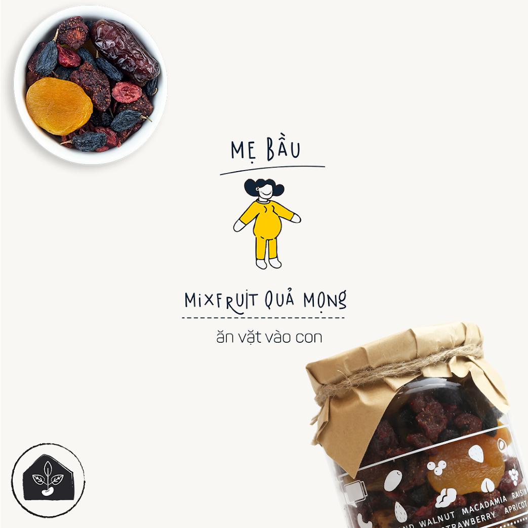 [A36] Mixnuts dinh dưỡng cho Bà Bầu 3 tháng ăn tốt nhất