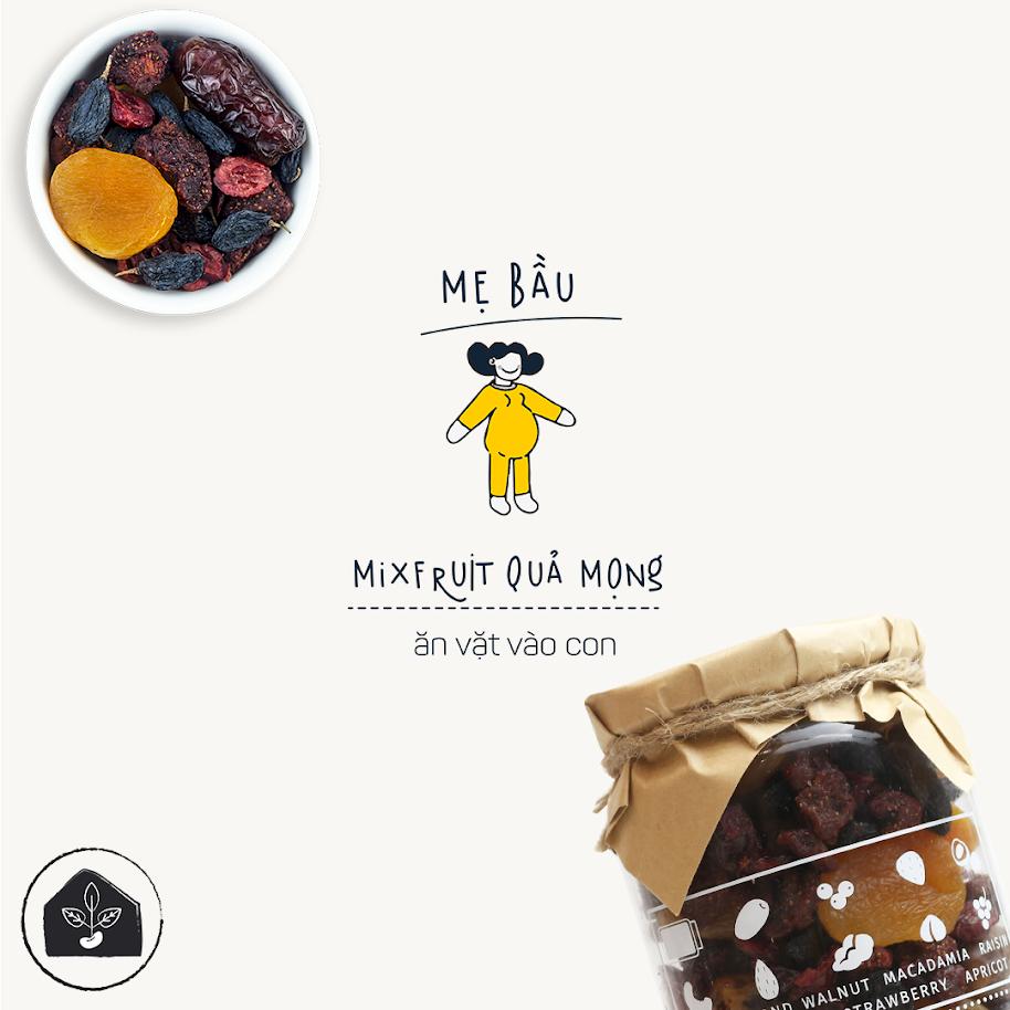 [A36] Mix hạt và quả dinh dưỡng cho Bà Bầu 100% tự nhiên