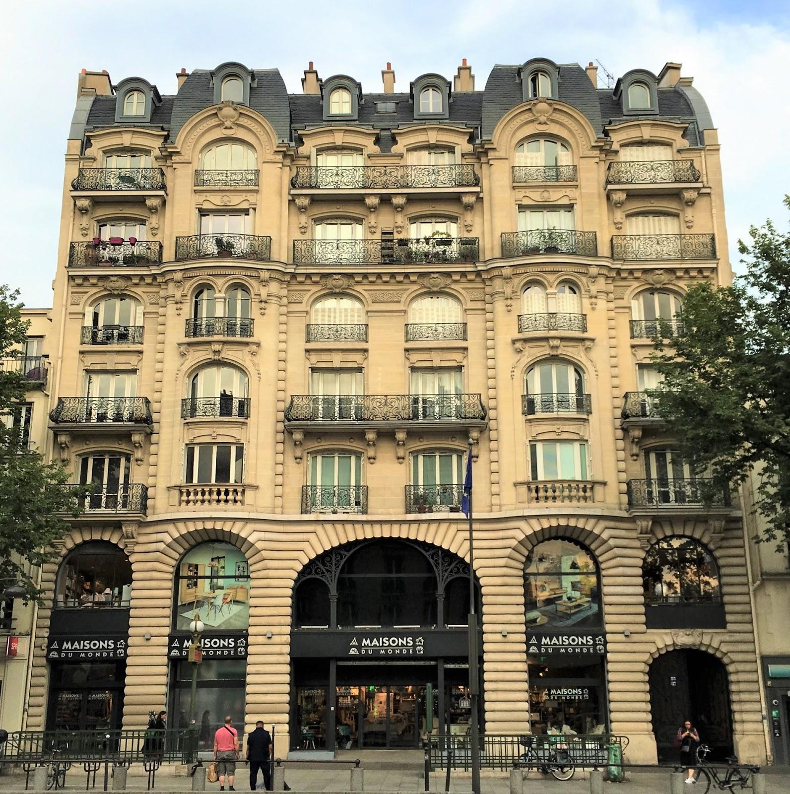 Caracteristique D Un Immeuble Haussmannien paris-bise-art : les mosaïques cachées de l'avenue d'italie