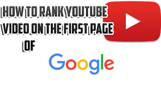 rank youtube videos on the first page of google