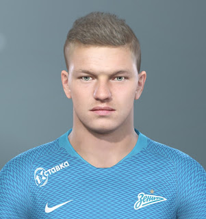 PES 2019 Faces Oleg Shatov by Vlad_R