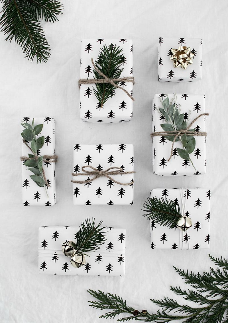 Inspiración para empaquetados navideños by Habitan2 | Ideas para envolver regalos en Navidad | Packaging handmade bonito para regalar en Navidad