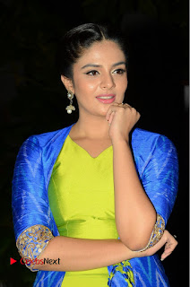 Telugu Cinema Actress Anchor Srimukhi Pictures at Rail Movie Audio Launch  0004