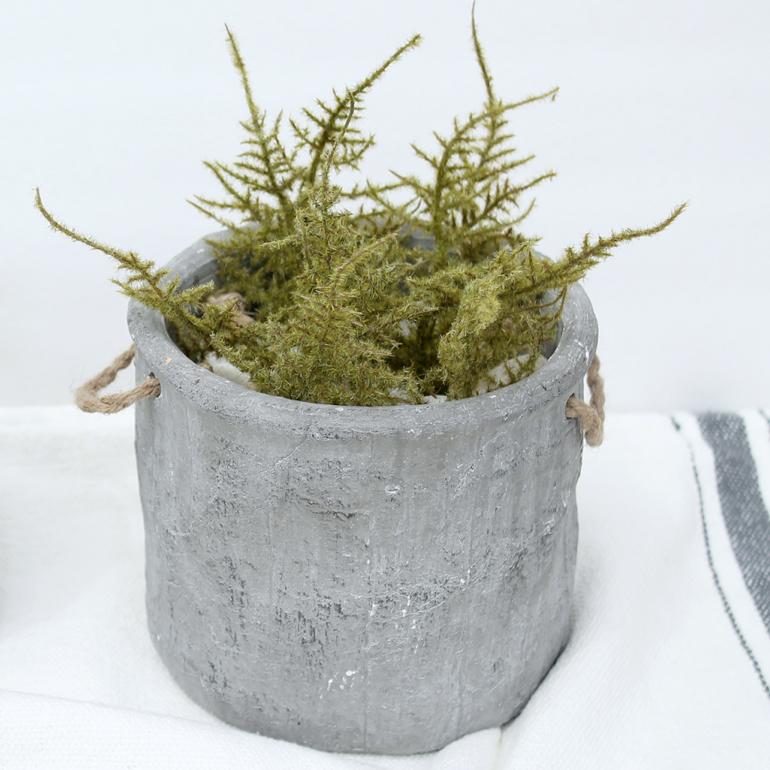 cesta de cemento