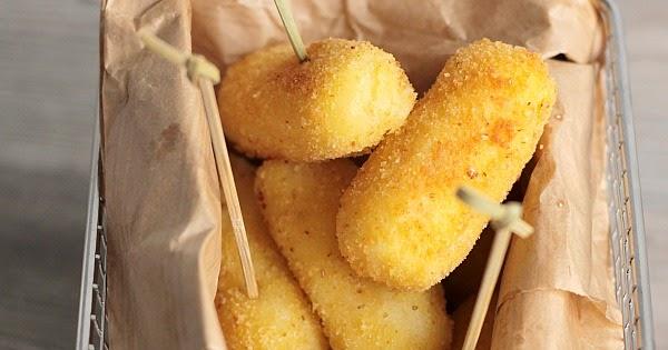 Crocchette di patate senza glutine con cuore filante