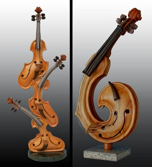 07-Friendship-and-Show-Off-Philippe-Guillerm-Musical-Instruments-Sculptures-French-Artist-Musician-Sculptor-Painter-Furniture-Maker-www-designstack-co