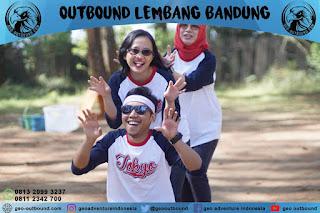Outbound di Cikole Lembang