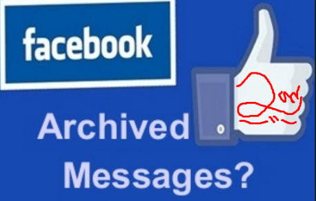 How to delete archived messages on messenger on iphone
