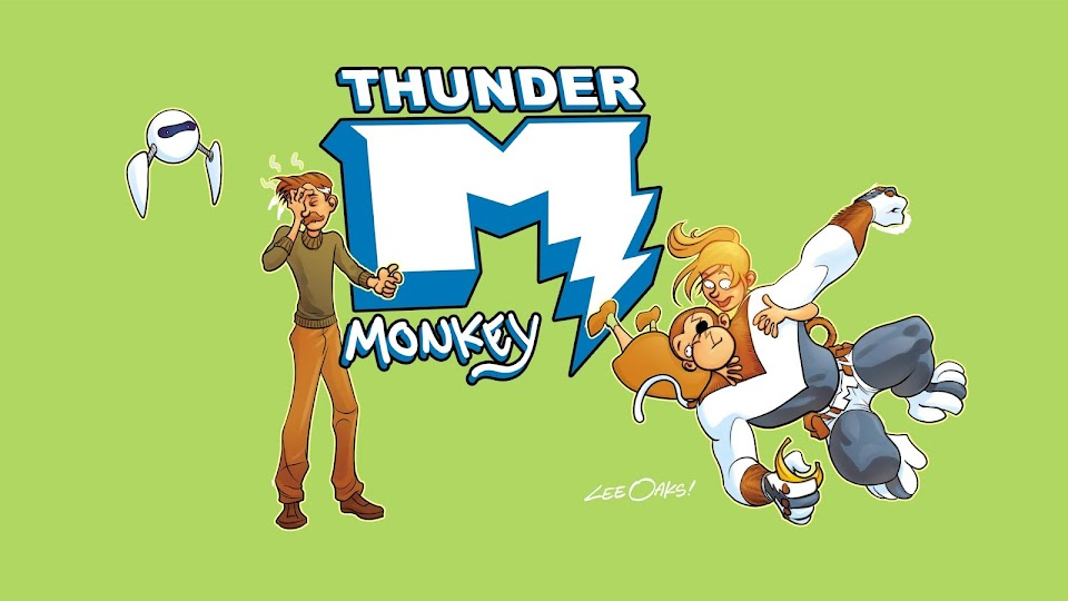 Thunder monkey logo